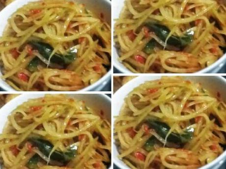 resep-sayur-buah-pepaya-muda-telur-tempe-kuah-santan-oleh-chandra-ekajaya